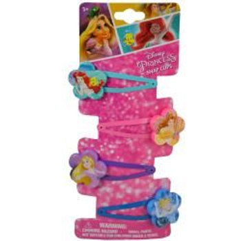 Princess 4 on Snaps with Plastic Motifs Hair Accessory