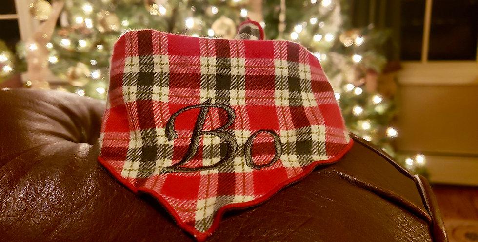 Red & Olive Flannel