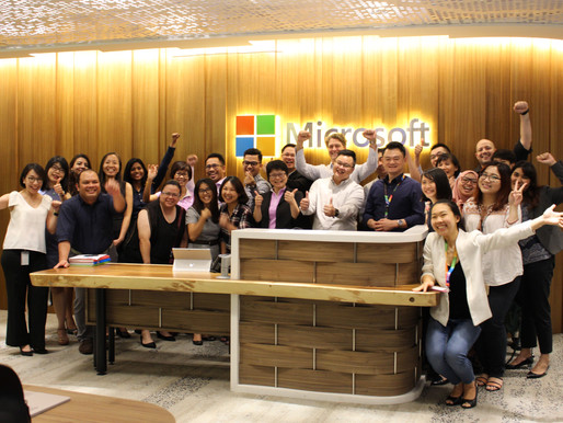 An afternoon with Microsoft Malaysia Finance Team