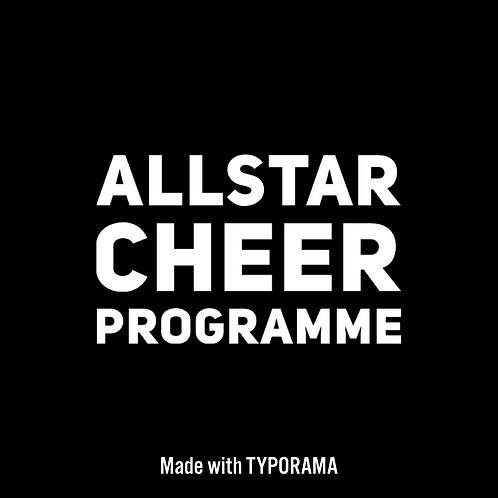 Allstar Cheer Programme