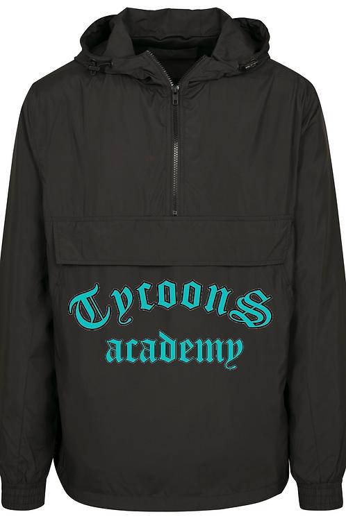 Adult windbreaker jacket - Black