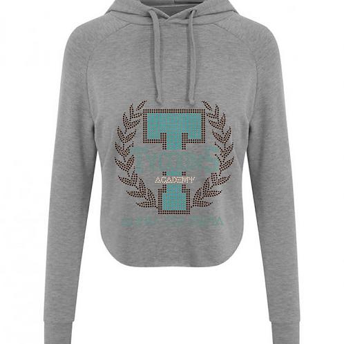 Cropped jumper - Grey