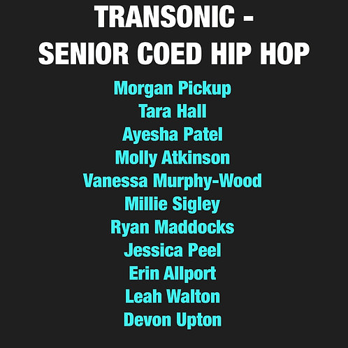 Transonic Co-Ed Hip Hop