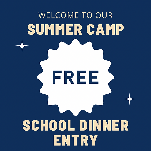 Free School Meals -  Holiday Camp