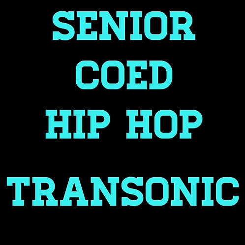 Transonic senior coed hip hop