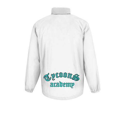 Kids windbreaker jacket -White