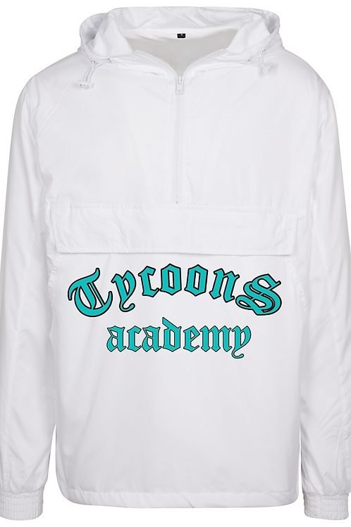 Adult windbreaker jacket -White