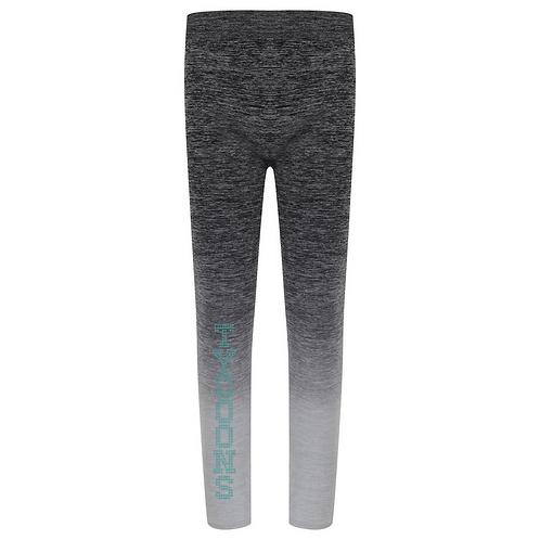 Grey fade-out leggings