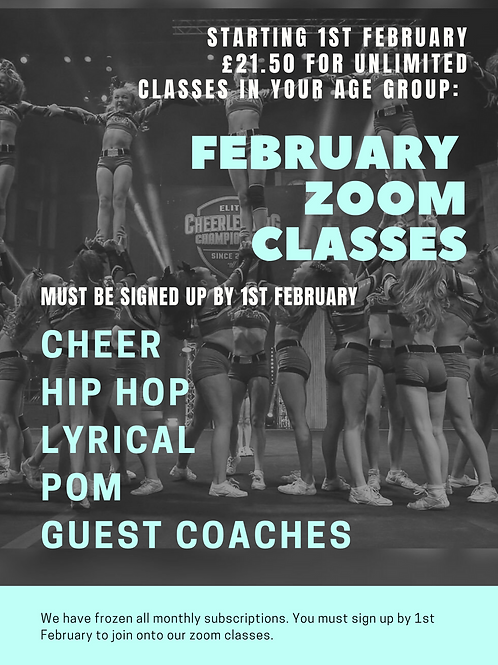 February Zoom Sessions