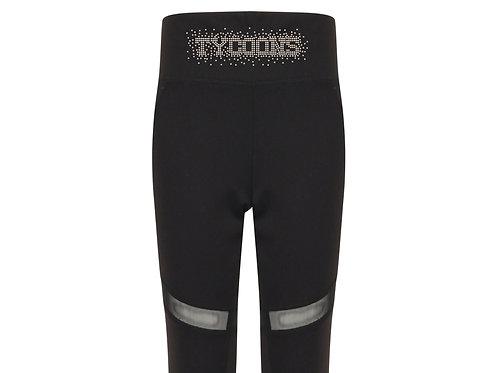 Kids black leggings