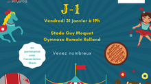 J-1 : Vendredi, cirque au RC Drancy !