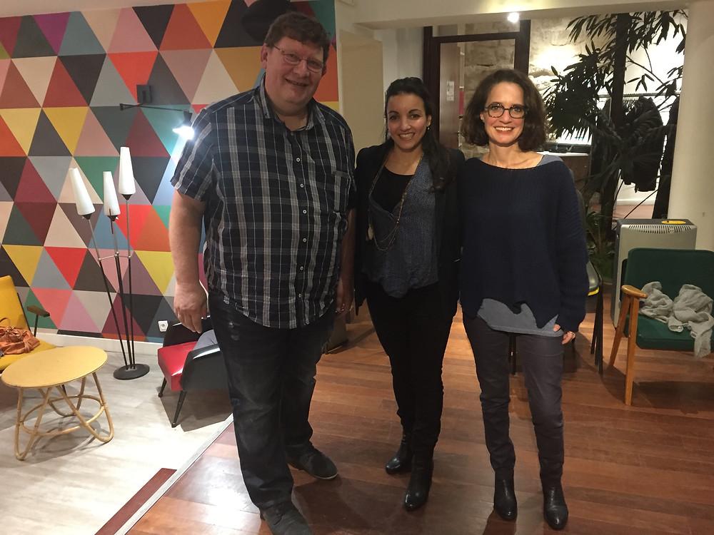 12 décembre 2017 dans les locaux de Paris Pionnières avec entre autres, Sarah Ourahmoune,  déléguée du Gouvernement dans le 93 et porteuse de ce programme