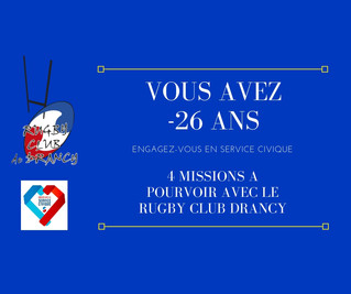 Rugby Club Drancy & Service Civique