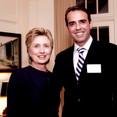 Hillary Clinton and Dino Zonic