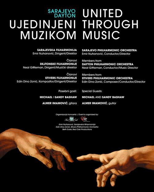 United Through Music, Concert in Sarajevo