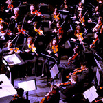 Dino Zonic conducting combined Orchestra