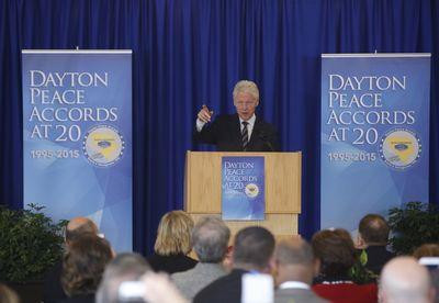 Bill CLinton, Dayton Peace Acoords