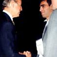 Senator Joe Biden and Dino Zonic