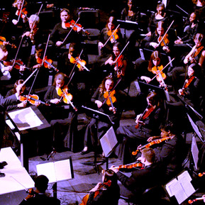 Dino Zonic conducting combined Orchestras