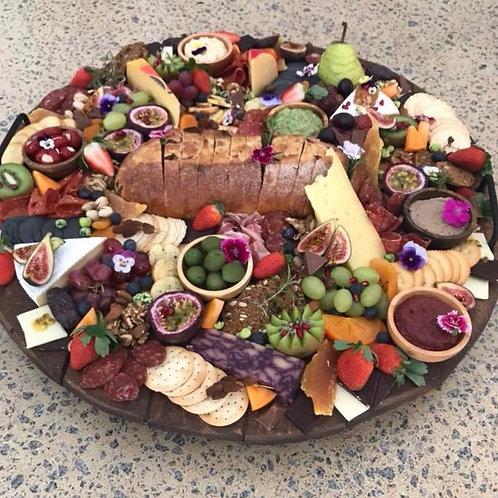 Rustic Round Serving Platter