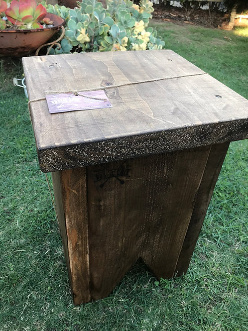 Square stool / side table