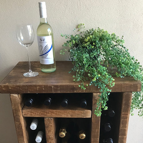 Made to Order Rustic Wine Rack
