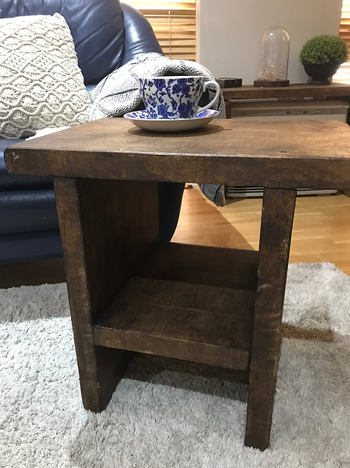 Made to Order Rustic Side Table