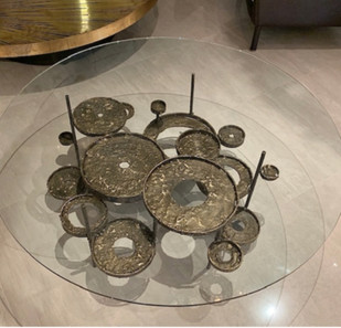 Moon Pool Cocktail Table