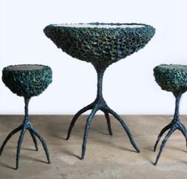 Elysium Table and Stools