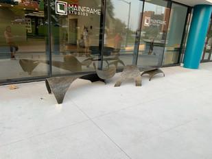 Mainframe Studios Bench