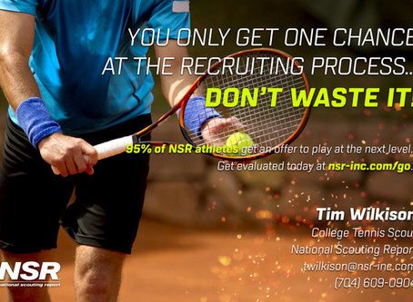 SIGN UP NOW FOR FREE NATIONAL SCOUTING REPORT EVALUATION