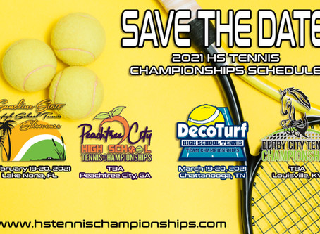 2021 HS Tennis Championships Events