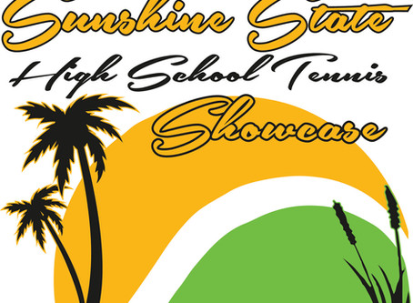 2020 SUNSHINE STATE HIGH SCHOOL TENNIS SHOWCASE SCHEDULE OF PLAY