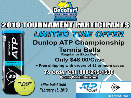 LIMITED-TIME OFFER FROM DUNLOP