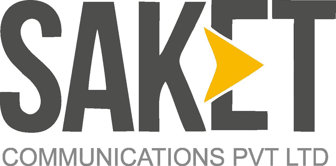 SAKET communications LOGO