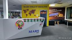 Mars reception desk