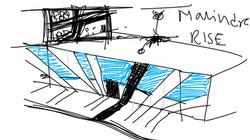 Mahindra rise digital sketch