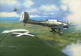 Stukas Under Attack