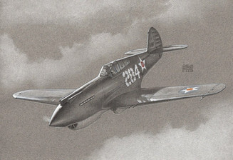 Curtiss P-40B, early 1942