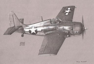 Grumman FM-2 Wildcat, late 1943