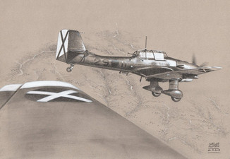 Stukas over Spain
