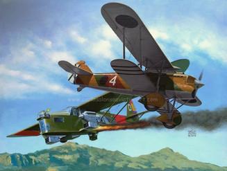 Hawk of the Balearics (Andratx, Mallorca, May 31, 1937)