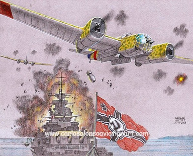 The Attack on the Battleship Deutschland