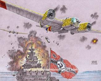 The Attack on the Battleship Deutschland