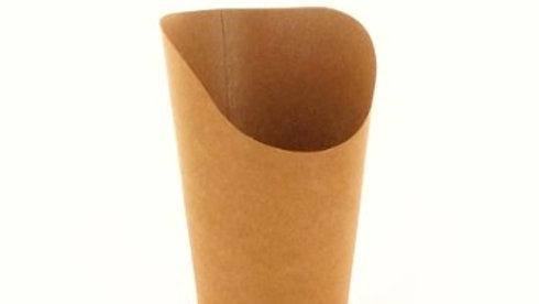 Kubek papierowy na tortillę brązowy