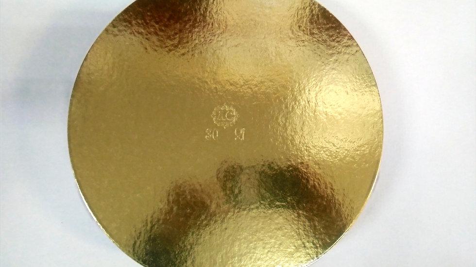 Podkładki pod tort złoto czarne
