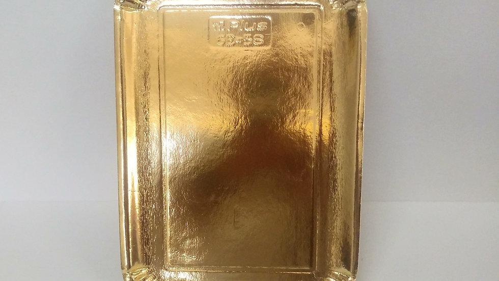 Tace cateringowe powlekane złote