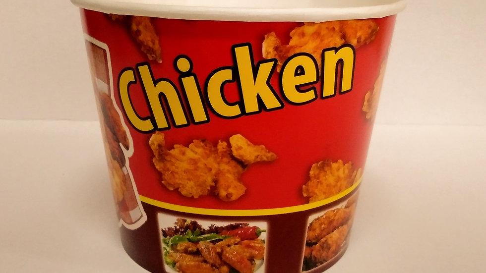 Kubełek papierowy na kurczaka lub chipsy