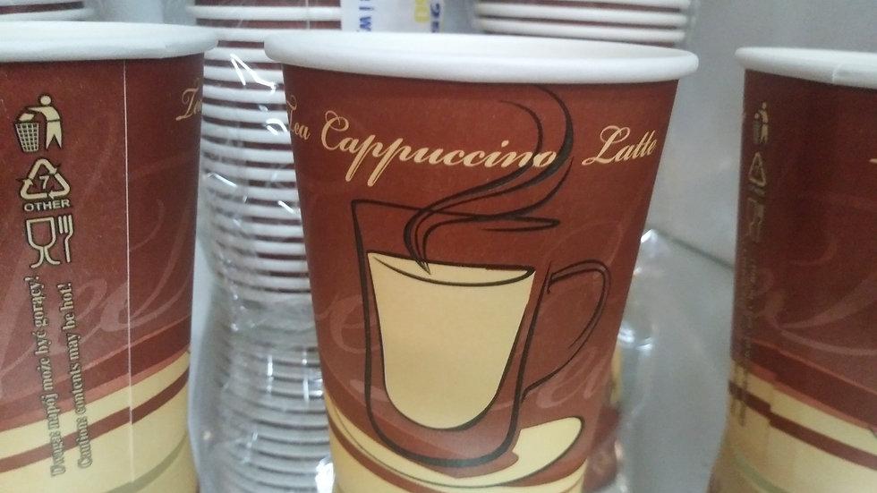 Kubki papierowe 250 ml do kawy i herbaty