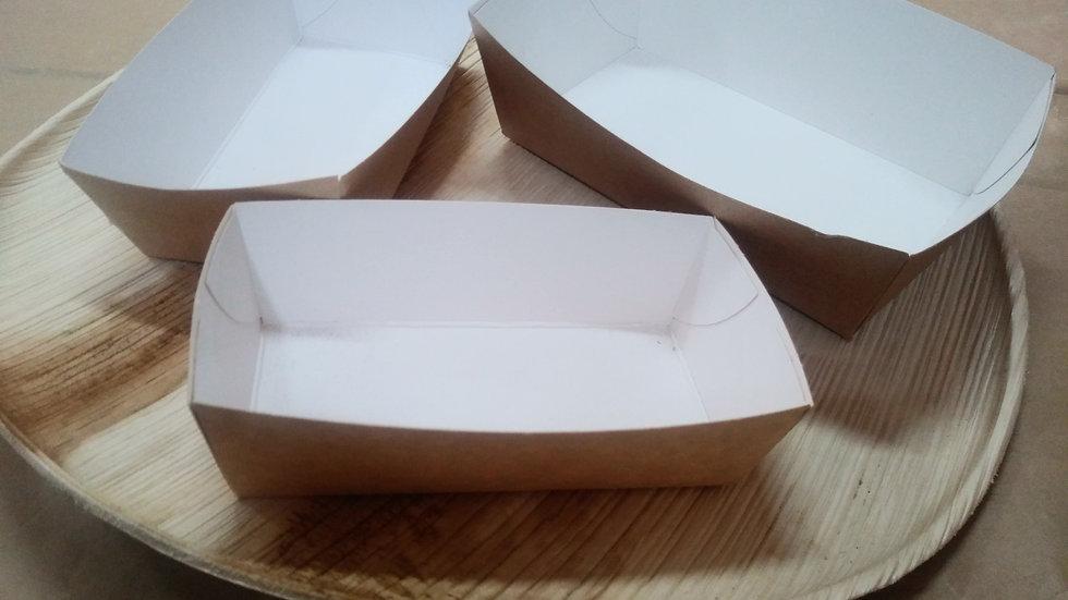 Pojemniki papierowe na frytki kraft